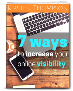 e-book: 7 ways to increase your online visibility