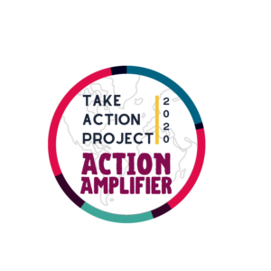 Take Action Project Action Amplifier 2020 digital badge